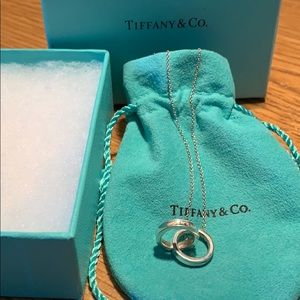 Tiffany and Co Interlocking Circles Necklace